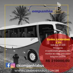 Ônibus fretamento Comil Campione 3.25 2013/2013 Volks 17-230