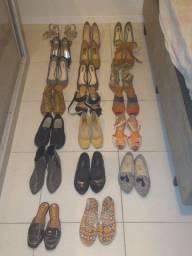 20 pares de sapatos femininos, número 35/36/37 - NÃO ENTREGO