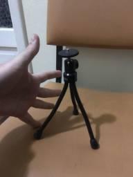 Tripé pequeno regulável para câmeras