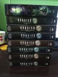 8 temporadas em DVD do Arquivo X