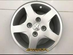 Título do anúncio: Rodas Aro 14 Peugeot  Semi Novas Com Garantia