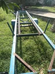 Carreta para barco até 10 mt