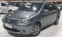 Etios Sedan nj 1.5 manual 2015 Único dono! Troco e financio! *