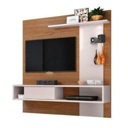 Título do anúncio: Painel tv com led , vidro temperado e bancada