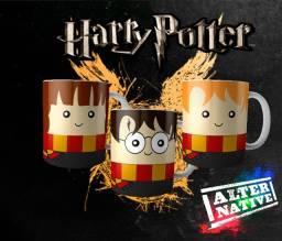 Kit 3 Canecas Harry Potter