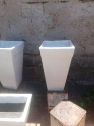 Vaso Cone Quadrado - Diversas Cores