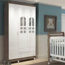 Guarda Roupa De Bebê 3 Portas