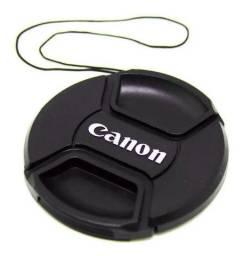 Tampa Canon Para Lente Objetiva 18-55mm T3i T4i T5i T6i - Ø 58mm 58 mm Diâmetro