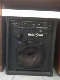 Caixa Amplificadora WattSom