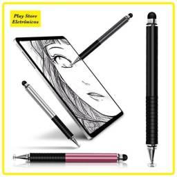 Caneta Touch Para Celular e Tablet Ipad Ponta Fina
