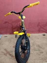 Bicicleta infantil nova 10x s