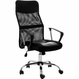 Cadeira Presidente Giratória Mesh
