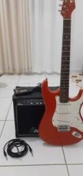 Guitarra Eagle Sts 001 + Acessórios
