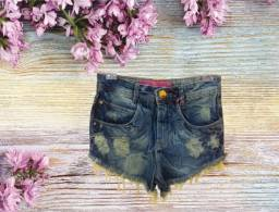 Shortinhos, short jeans suplex, malha