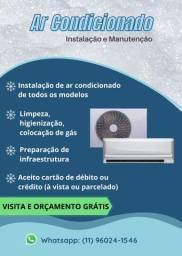 Ar condicionado split - instalação