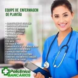 Enfermagem na clínica ou domiciliar