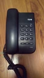 Telefone fixo com fio Keo k103 com chave