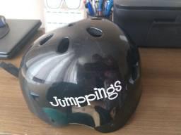 Capacete marca JUMPPINGS original infantil