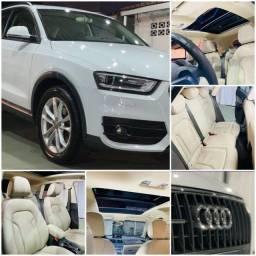Audi Q3 - TFSI Quattro 2.0 - Lacrada e revisada
