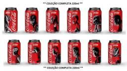Latinhas Coca-cola Zero 220ml Cheias Vingadores End Game