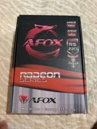 Placa de vídeo AMD R5 220 2gb ddr3