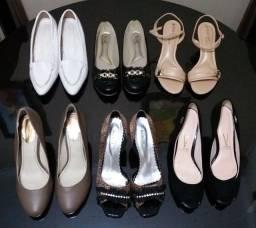 Vendo lote de calçados feminino novos/seminovos n°39/40 (Aceito Cartão)