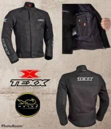 Jaqueta de Proteção Queda e Chuva Disponível