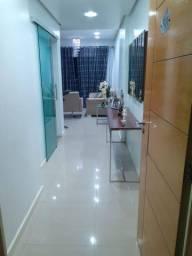 Apartamento 100% mobiliado na ponta negra 94m 3 dormitorios sendo 1/Suíte 5to andar