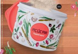 Título do anúncio: Tupperware tupper caixa açúcar floral 5 kg
