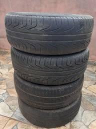 Vendo jogo de pneus pirelli 205/55/16