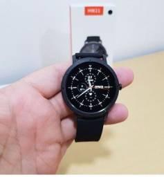 Smartwatch Redondo WH21 Relógio Inteligente