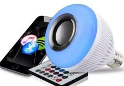 Lâmpada Led Bluetooth Musica