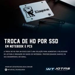 Trocar HD por SSD
