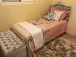 Vendo cabeceira de cama solteiro