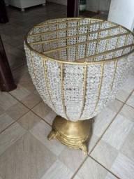 Vasos Decorativo perola/dourado (4 vasos)