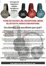 Fone JBL Bluetooth e rádio