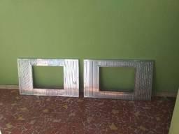 Painel de ar condicionado alumínio