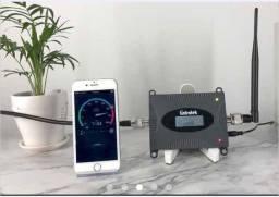 Amplificador de Sinal Celular rural 3G 4G  Frequência 850 Mhz