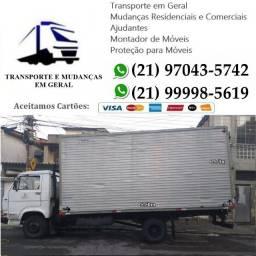 Transportes e Mudanças em Geral, Baú Fechado Taquara