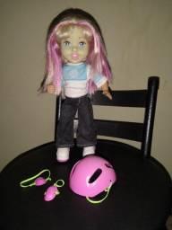 Boneca patinadora