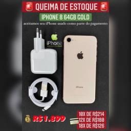 iPhone 8 64gb Gold super oferta