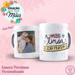 Caneca Personalizada Com Foto Porcelana