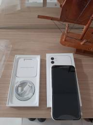 Iphone 11 Branco 64gb NOVO com NF