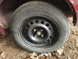 Rodas de ferro aro 14 VW