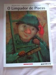 Livro Infantil - O limpador de placas
