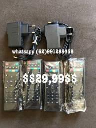 TV BOX, CONTROLE, FONTE, TECLADO