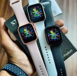 Relogio Inteligente Iwo x7 Muda Foto Faz Chamadas Smartwatch Android IOS Sem Juros
