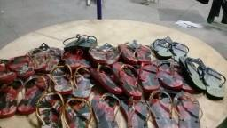 Sandália rasteiras