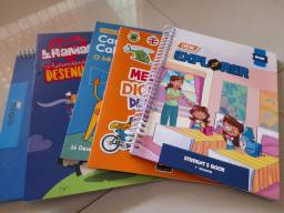 Kit de livros de ingles escola crescimento 1 ano
