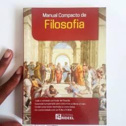 Livro Manual Compacto de Filosofia